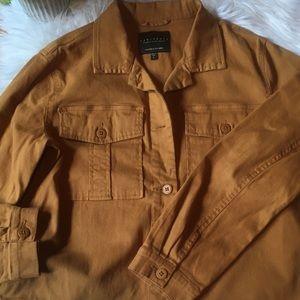 Sanctuary mustard jacket L